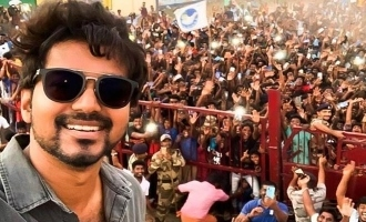 Arjun Das is the first actor to see Vijay in Selfie photo