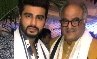 Boney Kapoor son Arjun Kapoor tested positive