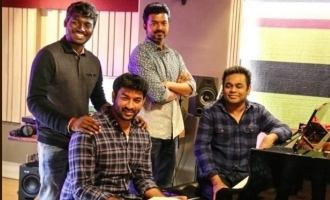 The two Mass heroes before Vijay who have sung in A.R. Rahman's music