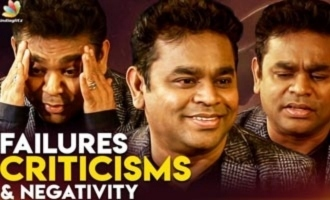 Failures, Criticisms & Negativity : How to Overcome Them? | AR Rahman Opens Up