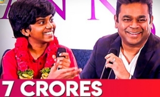 Lydian Nadhaswaram Wins 7 Crores | AR Rahman Recent Speech