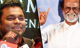 I feel Rajinikanth means only good : AR Rahman Speech