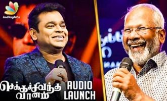 Maniratnam Got his NAYAGAN Energy Back : Ar Rahman Speech