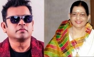 Legendary singer P. Susheela's fond request to A.R. Rahman