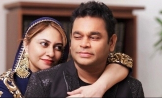 A.R. Rahman's most loving wedding anniversary message to wife Saira Banu