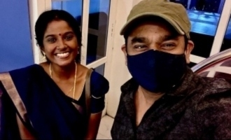 A.R. Rahman gives a surprise chance to serial actress Gabriella - Photos go viral
