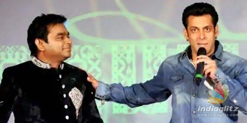 A.R. Rahman reacts strongly to Salman Khans tasteless troll - Video goes viral