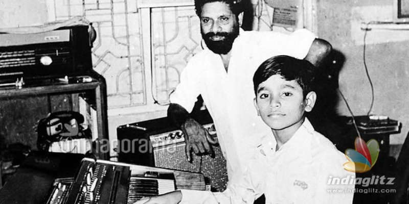 A.R. Rahman  posts rare childhood photo and pays tribute to his mentor who passed away