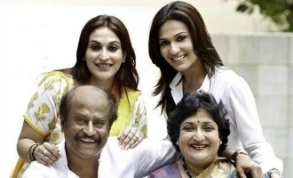 Rajinikanth family rare photos are viral in internet