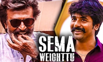 Sivakarthikeyan's Hilarious Comment on Semma Weightu : Arun Raja Kamaraj Interview