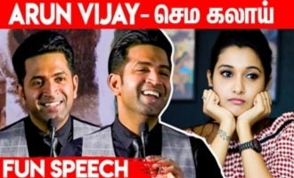 Arun Vijay trolls Priya Bhavani Shankar behaviour on sets