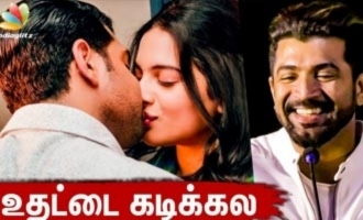 Arun Vijay denies biting heroine lips - Thadam Audio Launch