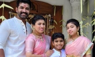 Arun Vijay's loveable family Diwali celebration photos go viral