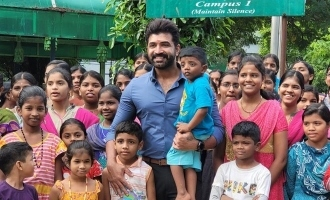 Arun Vijay's heartwarming birthday celebration with kids!