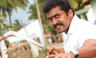 Surya act in double role in Aruva