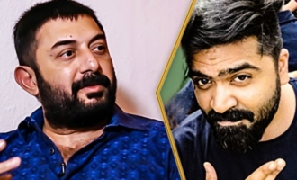Simbu's Behaviour in CCV Sets : Arvind Swamy Interview