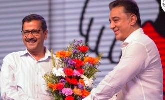 Kamal Haasan congratulates Arvind Kejriwal and promises to win Tamil Nadu next year
