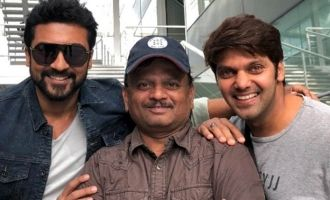A new addition to the mega multistarrer 'Suriya 37'