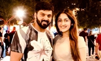 Arya and Sayyeshaa spend romantic time in Europe