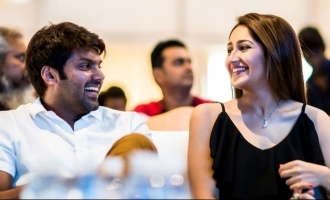 Celebrities' wishes pour in for Arya and Sayyeshaa