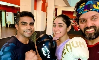 Arya reveals his surprise new boxing partner!
