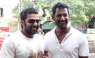 Vishal's heroine to pair with Arya in action entertainer?