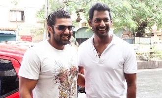 Change of plans for Vishal and Arya?