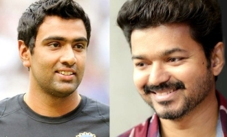 Ravichandran Ashwin connects Thalapathy Vijay b'day to Chennai Rains