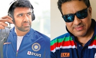 Ashwin reacts to Sanjay Manjrekar's criticism with famous Tamil movie meme; Tweet goes viral
