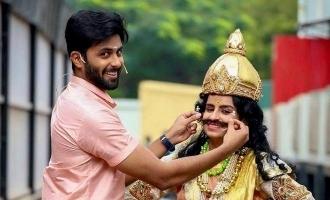 ஷிவாங்கியுடன் எடுத்த கடைசி போட்டோ: உருக்கத்துடன் பகிர்ந்த அஸ்வின்!
