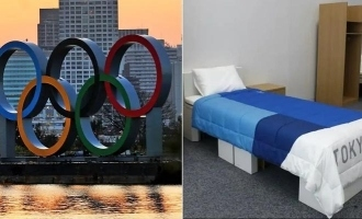 "Athletes given ""anti-sex"" beds at Tokyo Olympics?"
