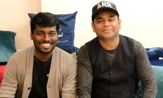 Atlee's mass Bigil moment with AR Rahman turns viral!