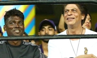 Shahruk Khan meet Atlee in Chepauk ground
