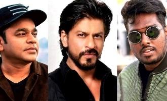 AR Rahman to compose music for Shah Rukh Khan - Atlee film?