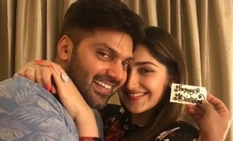 Arya & Sayyeshaa first public outing after becoming parents: spotted at a celebrity's birthday party!
