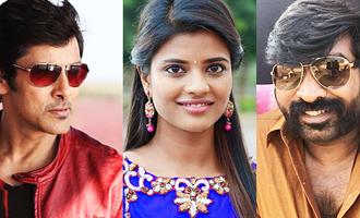 Hero Vikram, Heroine Aishwarya Rajesh and Villain Vijay Sethupathi