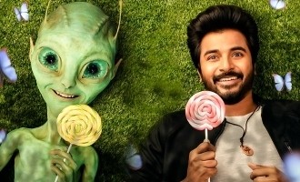 THE ALIEN IS HERE! Sivakarthikeyan's 'Ayalaan' astounding first look