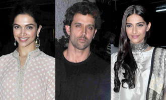 Celebs at 'Bajirao Mastani' Screening