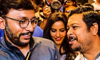 RJ Balaji's Emotional at LKG FDFS
