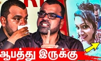 Poshika is NOT SAFE : Thaadi Balaji Emotional Speech