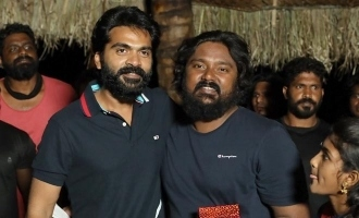 Simbu gives a birthday surprise for this comedian!