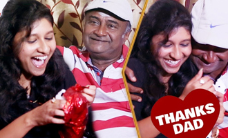 EXCLUSIVE : M.S.Bhaskar's emotional return gift to daughter
