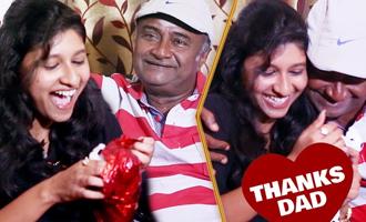 EXCLUSIVE : M.S.Bhaskar's emotional return gift to daughter