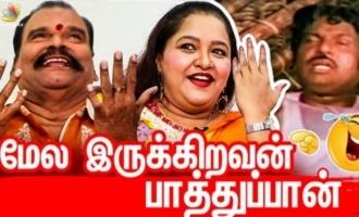 The real face of Gowndamani - Sharmili and Payilvan Ranganathan fun interview