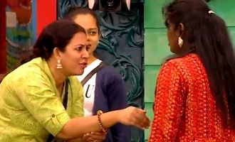 Bigg Boss 4 Archana and Nisha unexpected fight for water!
