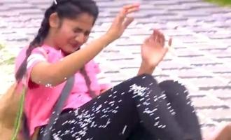 Biggboss Tamil season 3 Losliya injured in tasks
