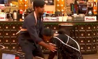 Bigg Boss Tamil 5: Thamarai Selvi falls on Abishek Raja's feet - Shocking promo