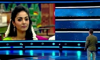 Bigg boss 4 Kamal Haasan's strong questions to Sanam Shetty!