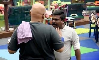 Suresh Chakravarthy and Velmurugan have a huge fight in Bigg Boss 4!