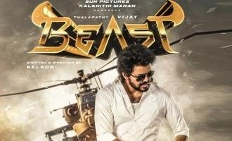 Thalapathi vijay in Beast Single soon
